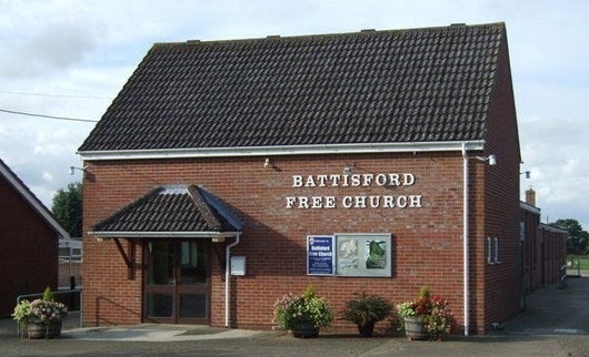 picture of building of Battisford Free Church.